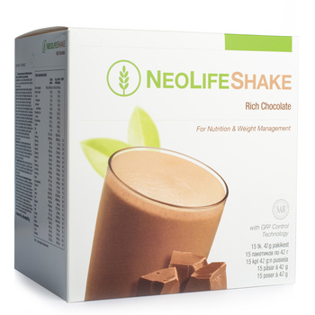 NeoLifeShake Rich Chocolate, Meal Replacement Protein Shake, less sugar