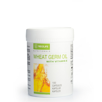 Wheat Germ Oil with Vitamin E, Vitamin E food supplement